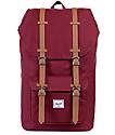 Herschel Supply Little America Windsor Wine 23.5L Backpack