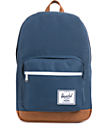 Herschel Supply Pop Quiz Navy Blue 20L Laptop Backpack