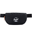 Herschel Supply Sixteen Black Fanny Pack