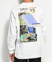 Host Error Beauty & Chaos White Long Sleeve T-Shirt
