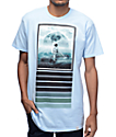 Imaginary Foundation Moon Surfer Powder Blue T-Shirt