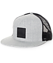 Imperial Motion Lark Grey & Black Trucker Hat