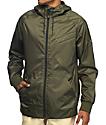Imperial Motion NCT Welder Olive Windbreaker Jacket