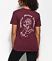 Imperial Motion Rose Burgundy T-Shirt