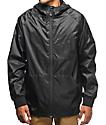 Imperial Motion Welder NCT Black Windbreaker Jacket