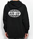 JSLV Global Black Hoodie