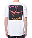 KR3W Fergus Bomber White T-Shirt