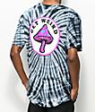 Know Bad Daze Get Weird Black Tie Dye T-Shirt
