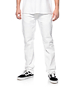 LRG True Taper Distressed White Regular Fit Jeans