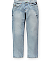 LRG True Taper Sun Bleached Regular Fit Jeans