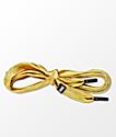 Lacorda OG Gold Shoelace Belt