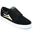 Lakai x Krooked Griffin Black Suede Skate Shoes