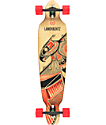 "Landyachtz Bamboo Battle Axe 40""  Drop Through Longboard Complete"