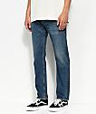 Levi's 502 Demic Regular Fit Blue Jeans