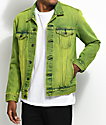 Levi's The Trucker Neon Green Denim Jacket