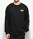Loser Machine Alleyway Black Long Sleeve T-Shirt