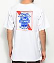 Loser Machine x PBR Condor Ribbon White T-Shirt