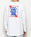 Loser Machine x PBR Established White Long Sleeve T-Shirt