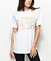MTTM x K-Swiss Camo Logo White T-Shirt