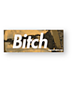 Married To The Mob Gold Bitch In A Box Sticker
