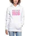 Married To The Mob MTTM Box Logo White Hoodie