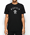 Marshin Logo Black T-Shirt