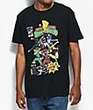 Mighty Morphin Power Rangers Black T-Shirt