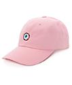 Mishka Keep Watch Pink Baseball Hat