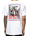 Mishka Uncle Simon White T-Shirt