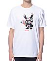 Mishka x Kid Robot Keep Watch Pattern Dunny White T-Shirt