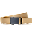 Mission Storm Tan Nylon Web Belt