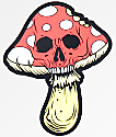 N°Hours Mushroom Skull Sticker