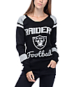 NFL Forever Collectibles Oakland Raiders Black & Silver Sweater