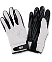 Neff Daily White & Black Pipe Snowboard Gloves