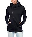 Neff Francesca Black Tech Fleece Jacket
