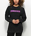 Neff Kylie Charcoal Long Sleeve T-Shirt