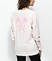 Neff Palmcross Peach Long Sleeve T-Shirt