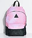 Neff Professor Pink Tie Dye & Charcoal Backpack