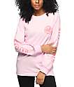 Neff Rylan Long Sleeve Pink T-Shirt