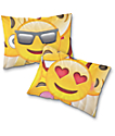 Night Shift Emoji Pillow Case Set