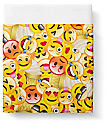 Night Shift Emoji Queen Sized Fitted Sheet Set