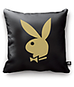 Night Shift X Playboy Classic Black & Gold Bunny Pillow