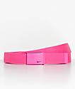 Nike Hot Pink Web Belt