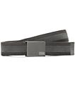 Nike Rubber Inlay Reversible Grey Web Belt
