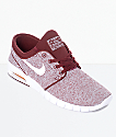 Nike SB Janoski Air Max Red, White & Orange Skate Shoes