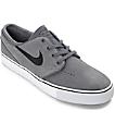 Nike SB Janoski Dark Grey & Black Skate Shoes