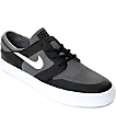 Nike SB Janoski Elite Dark Grey, White & Black Skate Shoes