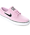 Nike SB Janoski Prism Pink Canvas Women's Skate Shoes