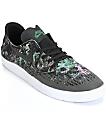 Nike SB Lunar Oneshot Black & Gorge Green Skate Shoes
