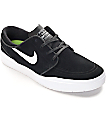 Nike SB Stefan Janoski Hyperfeel Black & White Skate Shoes